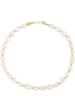 Nialaya Mujer Collares - Collar con perlas de agua dulce