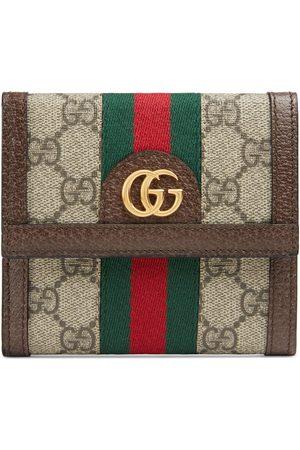 Gucci Mujer Carteras y monederos - Billetera Francesa de Solapa Ophidia con GG