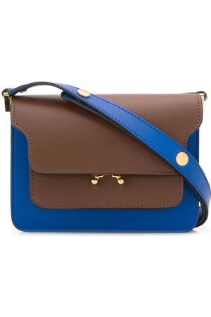 Marni Bolso de hombro mini con diseño colour block