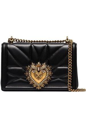 Dolce & Gabbana Bandolera mini con aplique de corazón