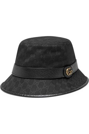 Gucci Sombrero tipo pescador lona GG con Doble G