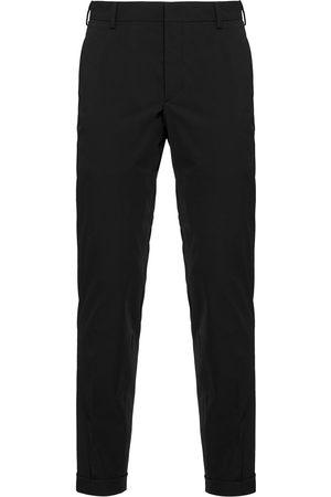 Prada Hombre Pantalones de vestir - Pantalones slim de sarga