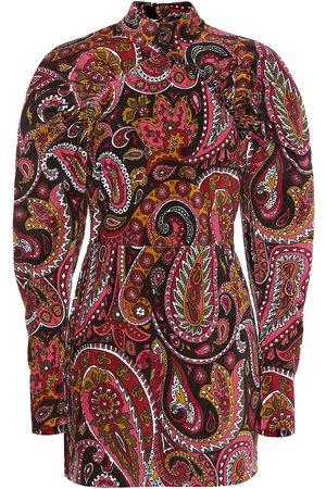 ROTATE Vestido corto de algodón