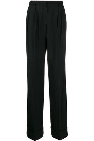 Dolce & Gabbana Pantalones acampanados de talle alto