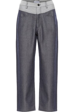 Colovos Pantalones rectos en mezcla de lana