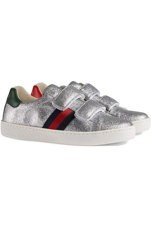 Gucci Kids Zapatillas con purpurina