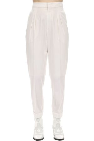 "Isabel Marant | Mujer Pantalones ""pelisso"" De Lana 34"