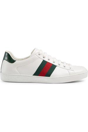 Gucci Zapatillas Ace de piel
