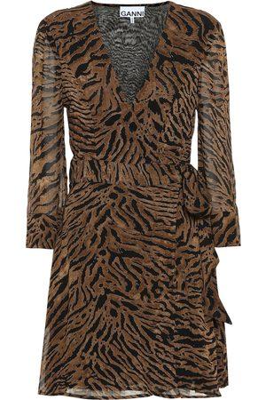 Ganni Vestidos - Vestido corto de georgette
