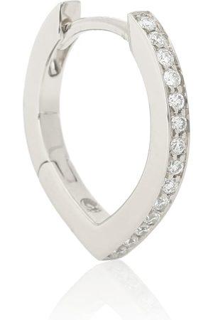 Repossi Arete único Antifer de oro blanco de 18 ct y diamantes