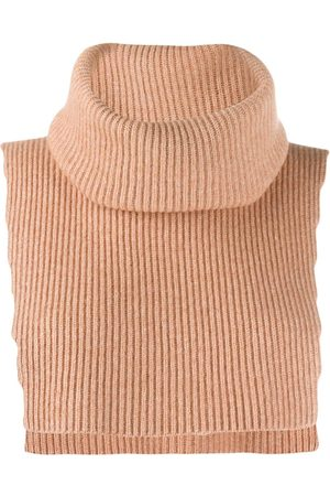 Cashmere In Love Top sin mangas con cuello alto