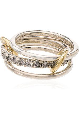 SPINELLI KILCOLLIN Anillo Petunia en oro de 18kt con diamantes