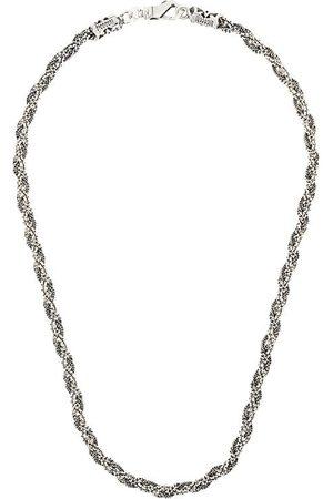 EMANUELE BICOCCHI Collar con diseño trenzado