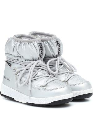 Moon Boot Botas de nieve metalizadas