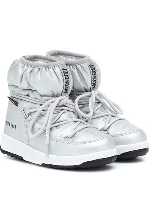 Moon Boot Kids Botas de nieve metalizadas