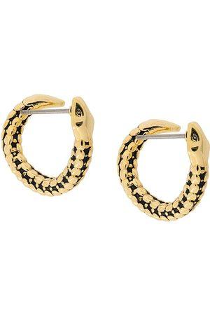 Aurélie Bidermann Mujer Pendientes - Pendientes de aro con diseño de serpiente
