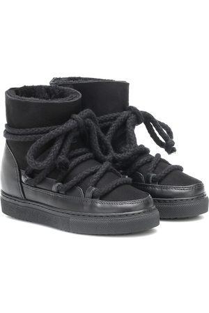 INUIKII Kids Botas Sneaker de gamuza y piel