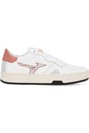 """Mizuno   Mujer Sneakers """"saiph 3 Bo"""" De Piel Y Ante /rosa 8.5"""
