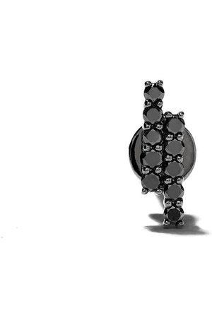 ALINKA Mujer Pendientes - Pendientes Mala con apliques de diamantes en oro blanco de 18kt