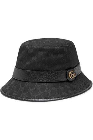 Gucci Sombrero de pescador de lona con GG