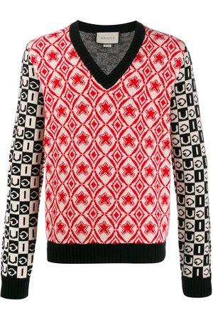 Gucci Jersey de punto con cuello en V