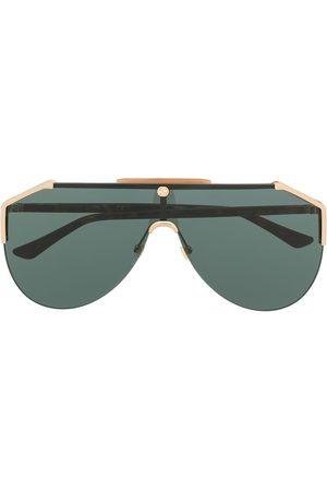 Gucci Gafas de sol estilo aviador con lentes de color