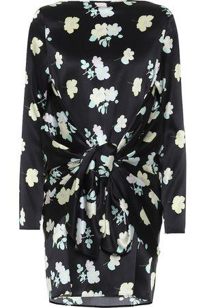 Bernadette Vestido corto Judy de seda floral