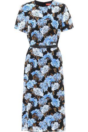 Altuzarra Exclusivo en Mytheresa – vestido midi Coco de seda floral