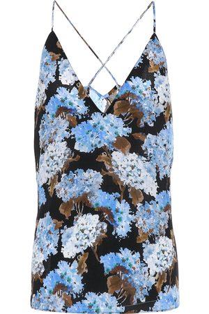 Altuzarra Exclusivo en Mytheresa – top lencero Hammond de seda floral