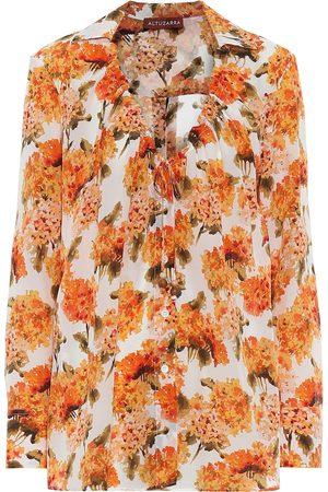 Altuzarra Exclusivo en Mytheresa – blusa Bowie de seda floral