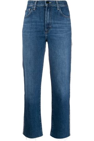 J Brand Mid rise stonewashed jeans