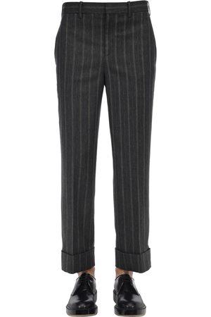 Neil Barrett | Hombre Pantalones De Viscosa De Pierna Ancha 50