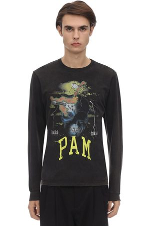 PAM PERKS AND MINI | Hombre Camiseta De Algodón Con Manga Larga S