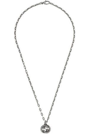 Gucci Mujer Collares - Collar de plata con GG