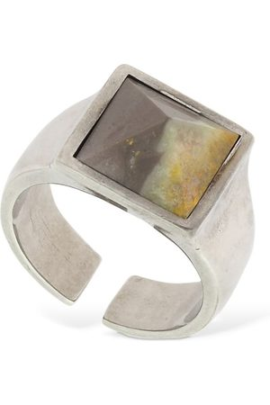 "Isabel Marant | Mujer Anillo ""golden Mother Pyramid"" /silver Xs"