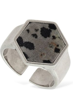 "Isabel Marant | Mujer Anillo ""golden Mother"" Hexagonal Xs"