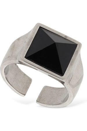 "Isabel Marant | Mujer Anillo ""golden Mother Pyramid"" /plata Xs"