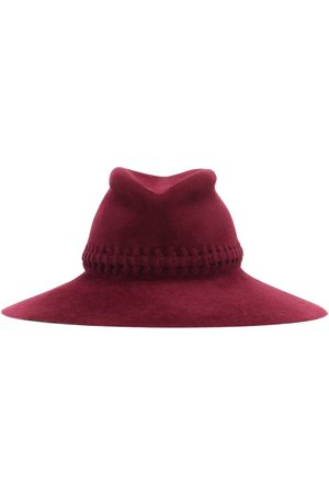 LOLA HATS Exclusivo en Mytheresa – sombrero Fretwork Redux de fieltro