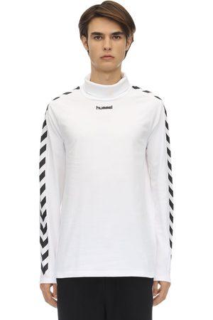 Hummel | Hombre Camiseta De Algodón Con Mangas Largas S