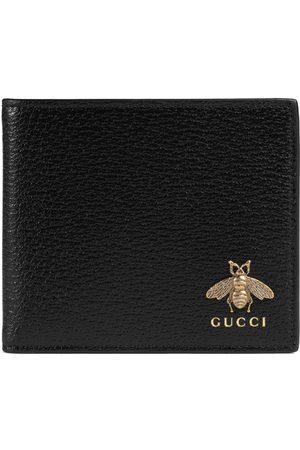 Gucci Hombre Carteras y monederos - Portamonedas Animalier de piel