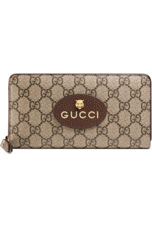 Gucci Cartera Neo Vintage GG Supreme con cremallera