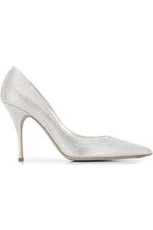 RENÉ CAOVILLA Zapatos de tacón stiletto con detalles
