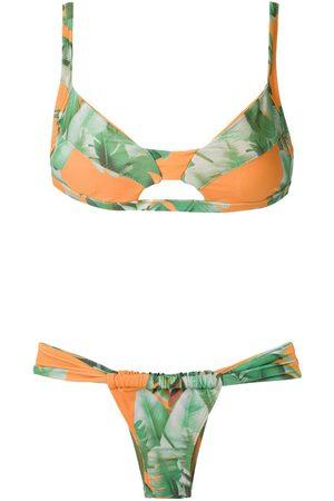 AMIR SLAMA Bikini estampado