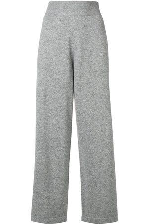 Barrie Pantalones de chándal con cinturilla de canalé