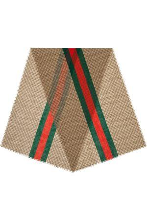 Gucci Bufanda con motivo de monograma