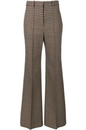 Victoria Beckham Pantalones anchos de tweed
