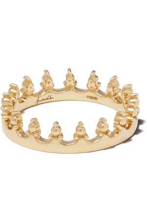 ANNOUSHKA Anillo Crown en oro amarillo de 18kt