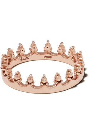 ANNOUSHKA Anillo Corwn en oro rosa de 18kt