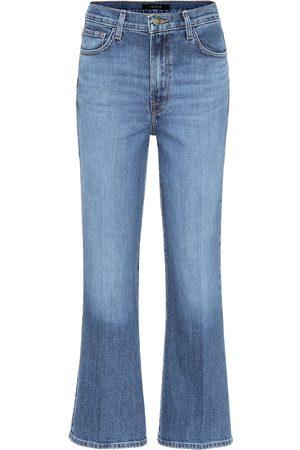 J Brand Jeans Julia cropped de tiro alto