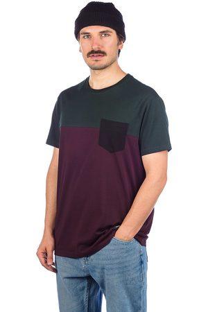Iriedaily Block Pocket T-Shirt violeta